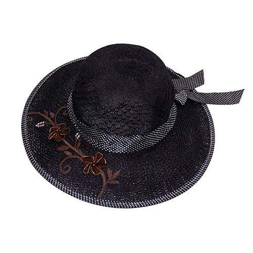 Kabello Women Big Bowknot Straw Hat