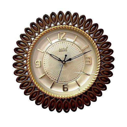 Active Quartz Rose Gold Wall Clock