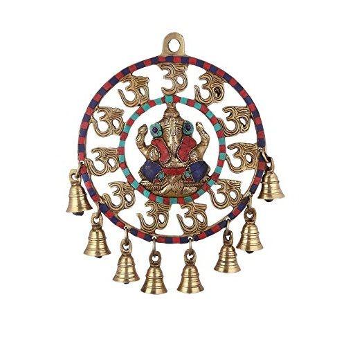 Artvarko Brass Om Ganesha Bells
