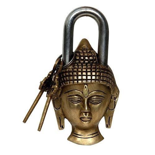 Buddha Head Design Showpeice