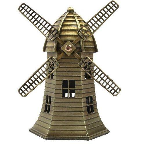 Classic Metal Windmill Miniature Model