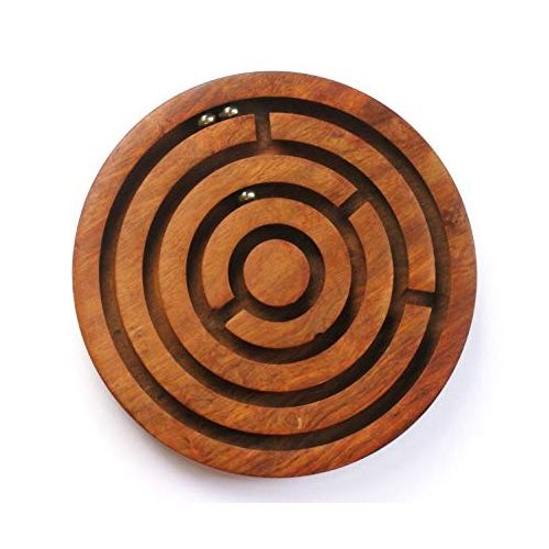 Wooden Puzzle Ball Game