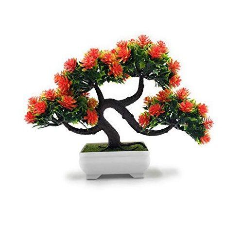 Bonsai Artificial Dwarf Tree - Orange