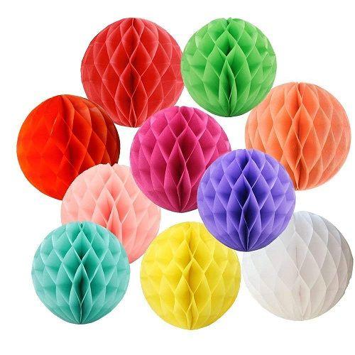 Paper Honeycomb Balls