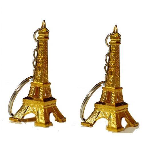 Metal Eiffel Tower Keyrings & Keychains