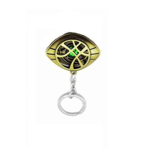 Eye of Agamotto Infinity Stone Alloy Keychain