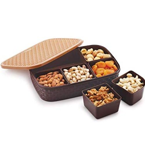 Multipurpose Dry Fruit Box-6 Sections